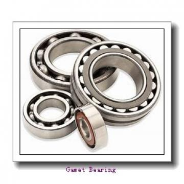 97 mm x 152,4 mm x 33,75 mm  97 mm x 152,4 mm x 33,75 mm  Gamet 131097/131152XC tapered roller bearings