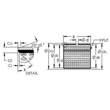 AST AST20 3030 plain bearings