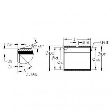 AST AST11 8050 plain bearings