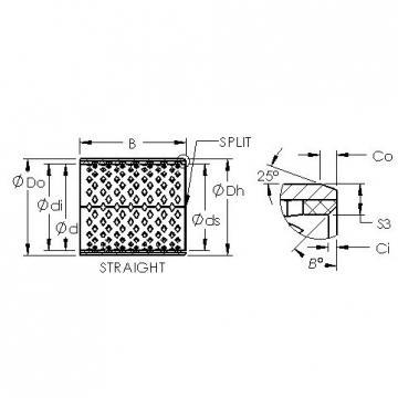 AST AST090 1525 plain bearings