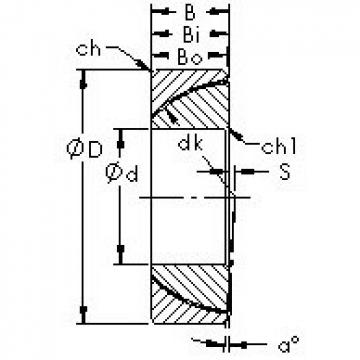 AST GAC120T plain bearings