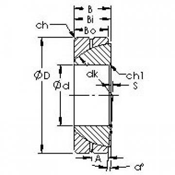AST GAC190S plain bearings