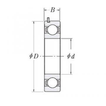 25 mm x 57 mm x 15 mm  25 mm x 57 mm x 15 mm  FBJ 83B717-9RC3 deep groove ball bearings