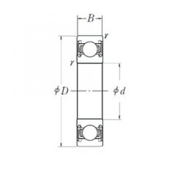 25 mm x 68 mm x 21 mm  25 mm x 68 mm x 21 mm  KBC B25-157A1HL1DDTA2 deep groove ball bearings