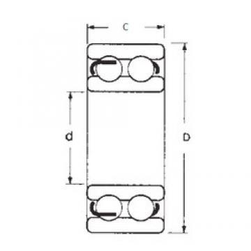 45 mm x 85 mm x 23 mm  45 mm x 85 mm x 23 mm  FBJ 4209-2RS deep groove ball bearings