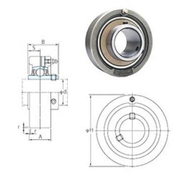 FYH UCC212 bearing units