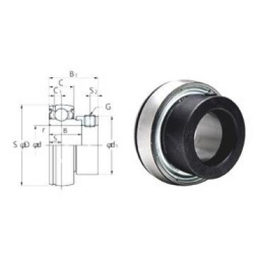 28,575 mm x 62 mm x 23,8 mm  28,575 mm x 62 mm x 23,8 mm  FYH SA206-18F deep groove ball bearings