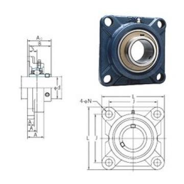 FYH UCF212-39 bearing units