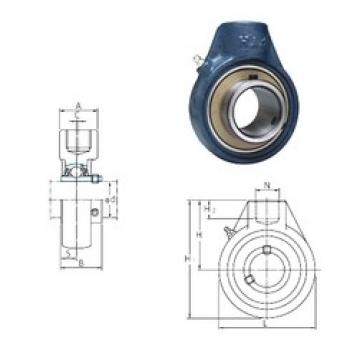 FYH UCHA209-26 bearing units