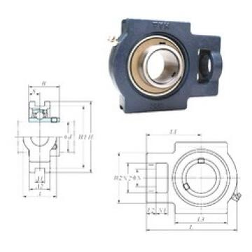 FYH UCTX07E bearing units