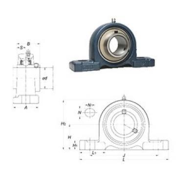FYH UCP206-19 bearing units