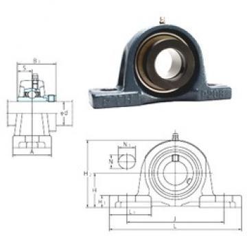 FYH NAP206 bearing units