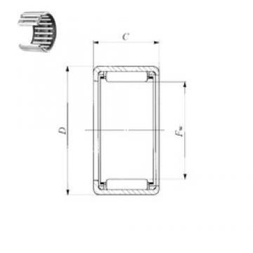 IKO BA 68 Z needle roller bearings
