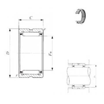 IKO BR 648032 needle roller bearings