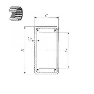 IKO TAM 2225 needle roller bearings