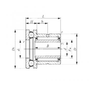 50 mm x 72 mm x 25,5 mm  50 mm x 72 mm x 25,5 mm  IKO NAXI 5040 complex bearings