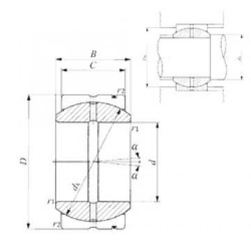45 mm x 72 mm x 36 mm  45 mm x 72 mm x 36 mm  IKO SB 457236 plain bearings