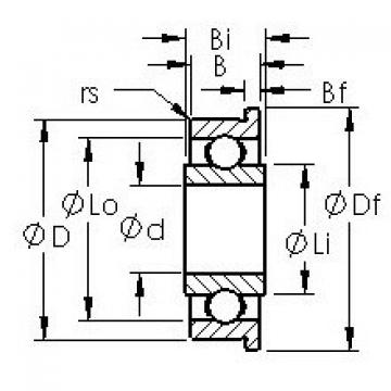 AST SFRW2-6 deep groove ball bearings