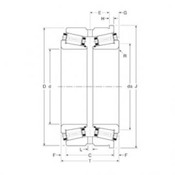 Gamet 131090/131152XH tapered roller bearings