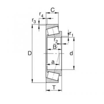 70 mm x 125 mm x 24 mm  70 mm x 125 mm x 24 mm  KBC 30214J tapered roller bearings