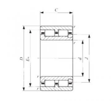 12 mm x 24 mm x 13 mm  12 mm x 24 mm x 13 mm  IKO NAU 4901 cylindrical roller bearings