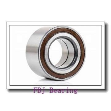 28,575 mm x 63,5 mm x 15,875 mm  28,575 mm x 63,5 mm x 15,875 mm  FBJ 1654-2RS deep groove ball bearings